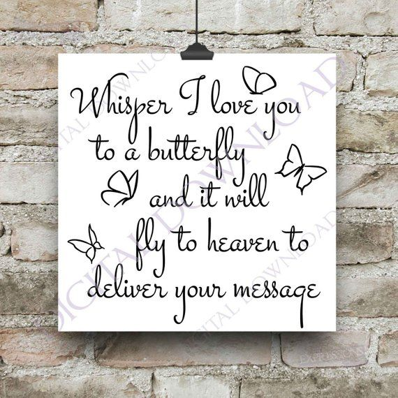 Download Whisper I love you to a butterfly Vector Download Ready to ...