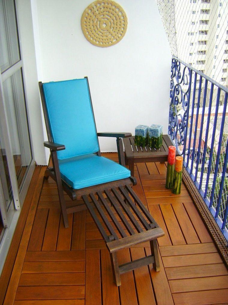 Decoracion de balcones y terrazas pequeñas - 99 ideas geniales ...