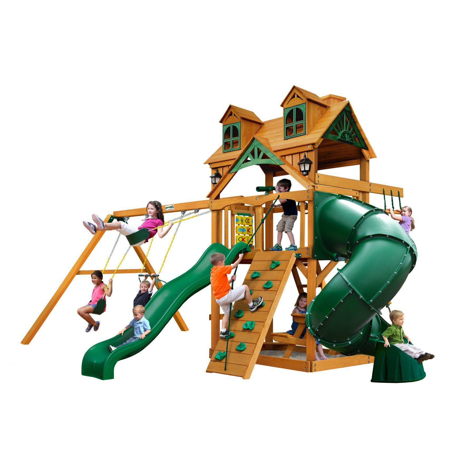Gorilla Playsets Malibu Extreme Swing Set - 01-0046-AP