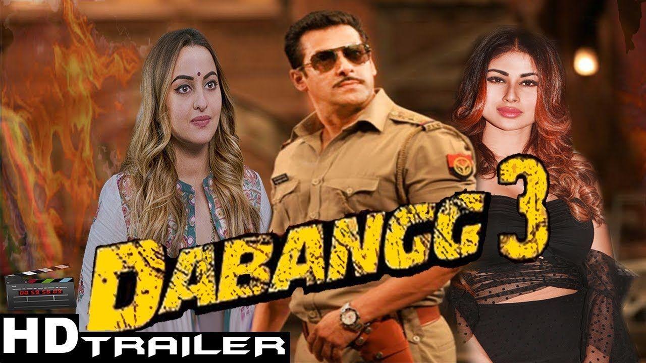 Dabangg 3 Trailer Salman Khan Sonakshi Sinha Mouni Roy Upcoming Hindi Comedy Bollywood Songs Upcoming Movies