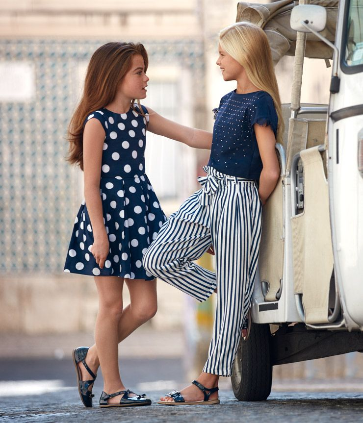 11befabfdd9ce MAYORAL. Junior Collection. Spring-Summer 2019.   fashion girls in ...