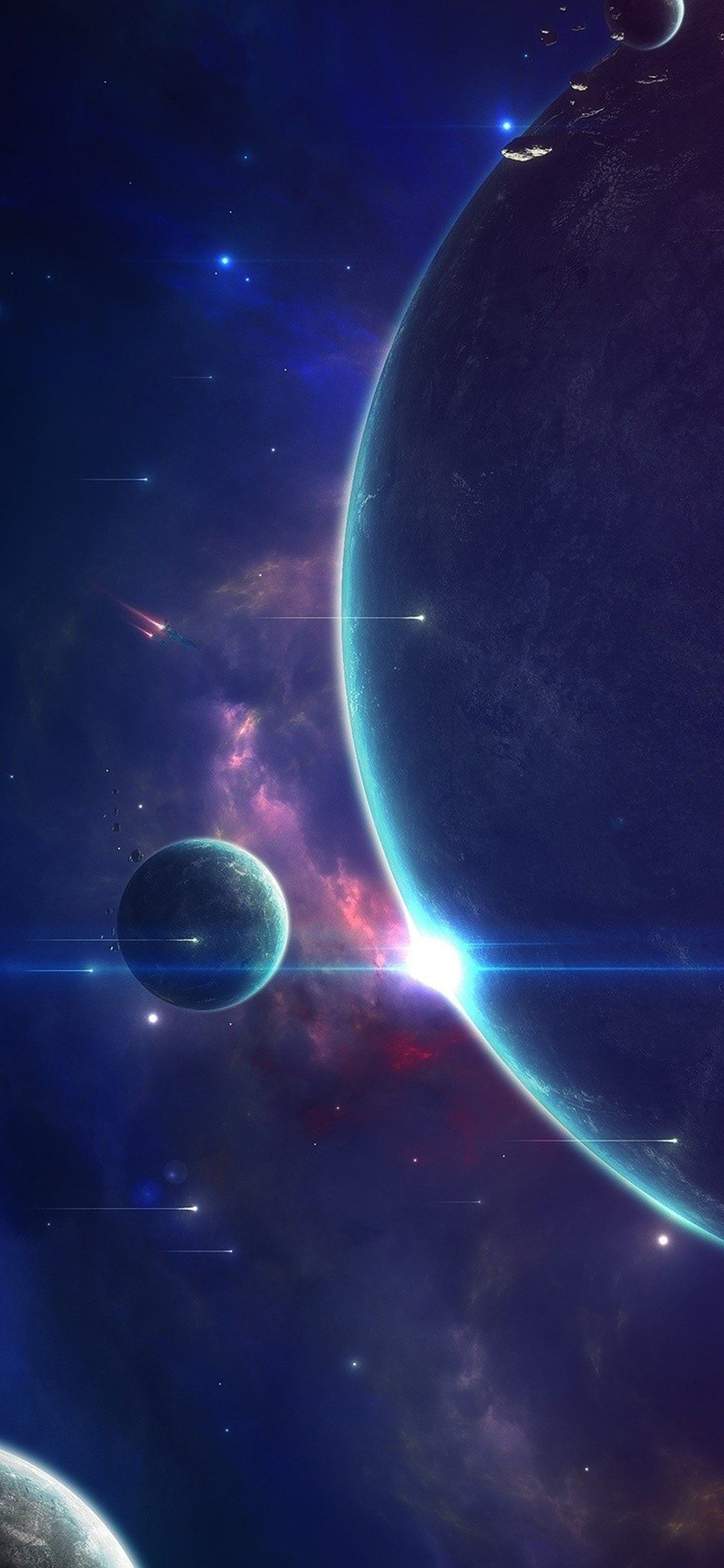 Colorful Space Wallpaper Iphone X Background Colorful Iphone Space Wallpaper Celeb In 2020 Wallpaper Space Samsung Wallpaper Android Aesthetic Iphone Wallpaper