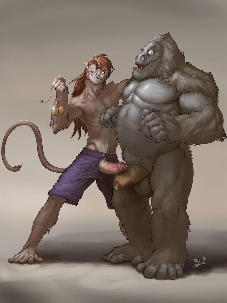 Gay gorilla porn