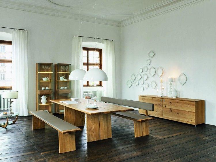 ambiance bois, peinture murale blanc neige, meubles scandinaves et