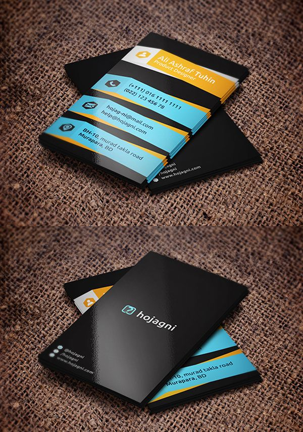 Business Cards Design: 25 Creative Examples - 24 | Business Cards ...