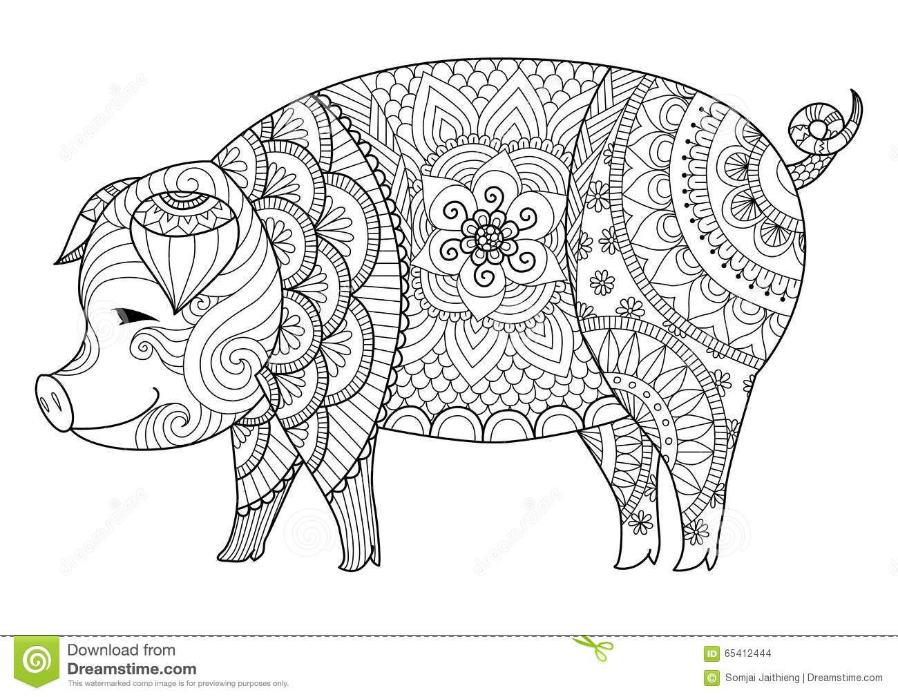 Image Result For Wolf Drawing Geometric Animal Coloring Pages