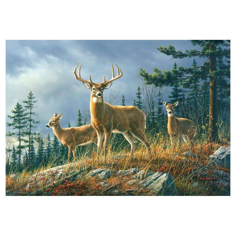 Brewster Autumn Whitetail Wall Mural DM151 Deer