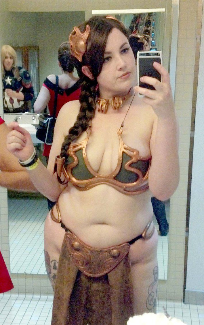 Chubby Slave Leia Selfie By Sailorsmouth On Deviantart