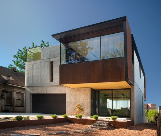Oklahoma Case Study House Fitzsimmons Architects Architecture House House Architecture Design Modern House Design