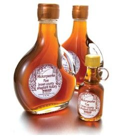 shagbark hickory syrup from hickoryworks com gourmet syrup syrup