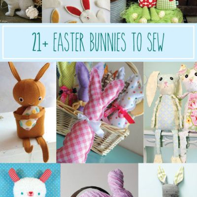 Easter Bunny Sewing Roundup