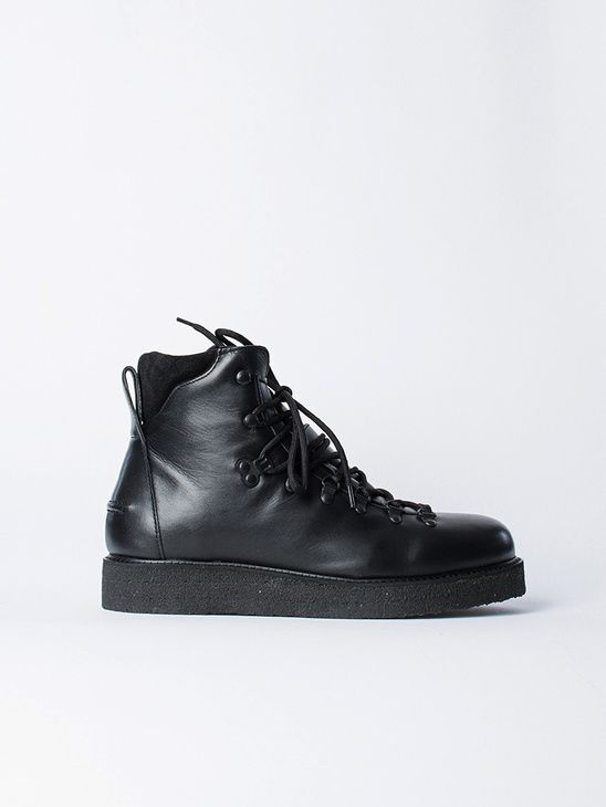 Filippa K HIKER - Bottines à lacets noir fWRRXSEV4k