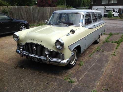 Ford Zephyr Farnham Estate For Sale 1959 On Car And Classic Uk