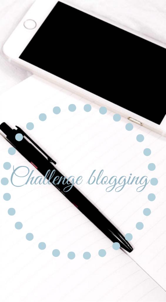 challenge_blogging
