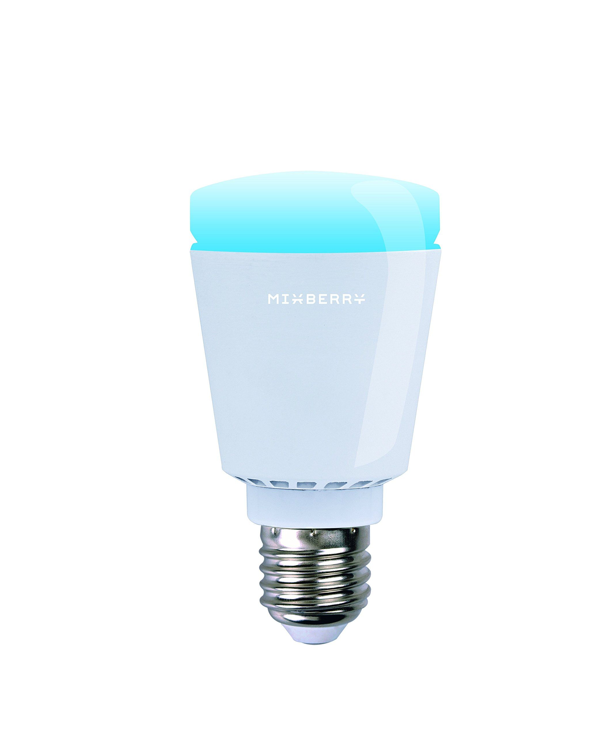 Mixberry Smart Led Light Bulb E27 Medium Base 16 Million Dimmable Colors Features Sleep Wake And Party Modes Compatible Your Light Bulb Led Light Bulb Bulb