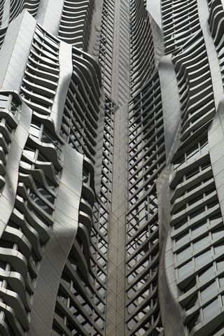 New York by Gehry: the tallest residential structure in the western hemisphere.