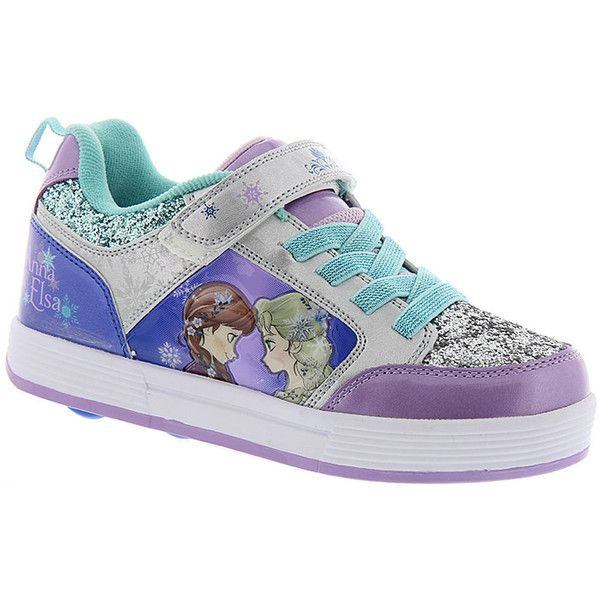 659c5a2d09b7 Heelys Thunder X2 Frozen (Girls  Toddler-Youth) (£56) ❤ liked on Polyvore  featuring shoes