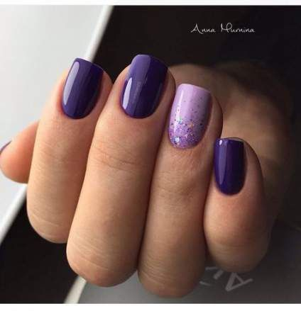 Nails acrylic purple polish 38 Ideas