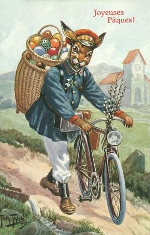 Happy Easter Via Post With Incense Tea Goats More