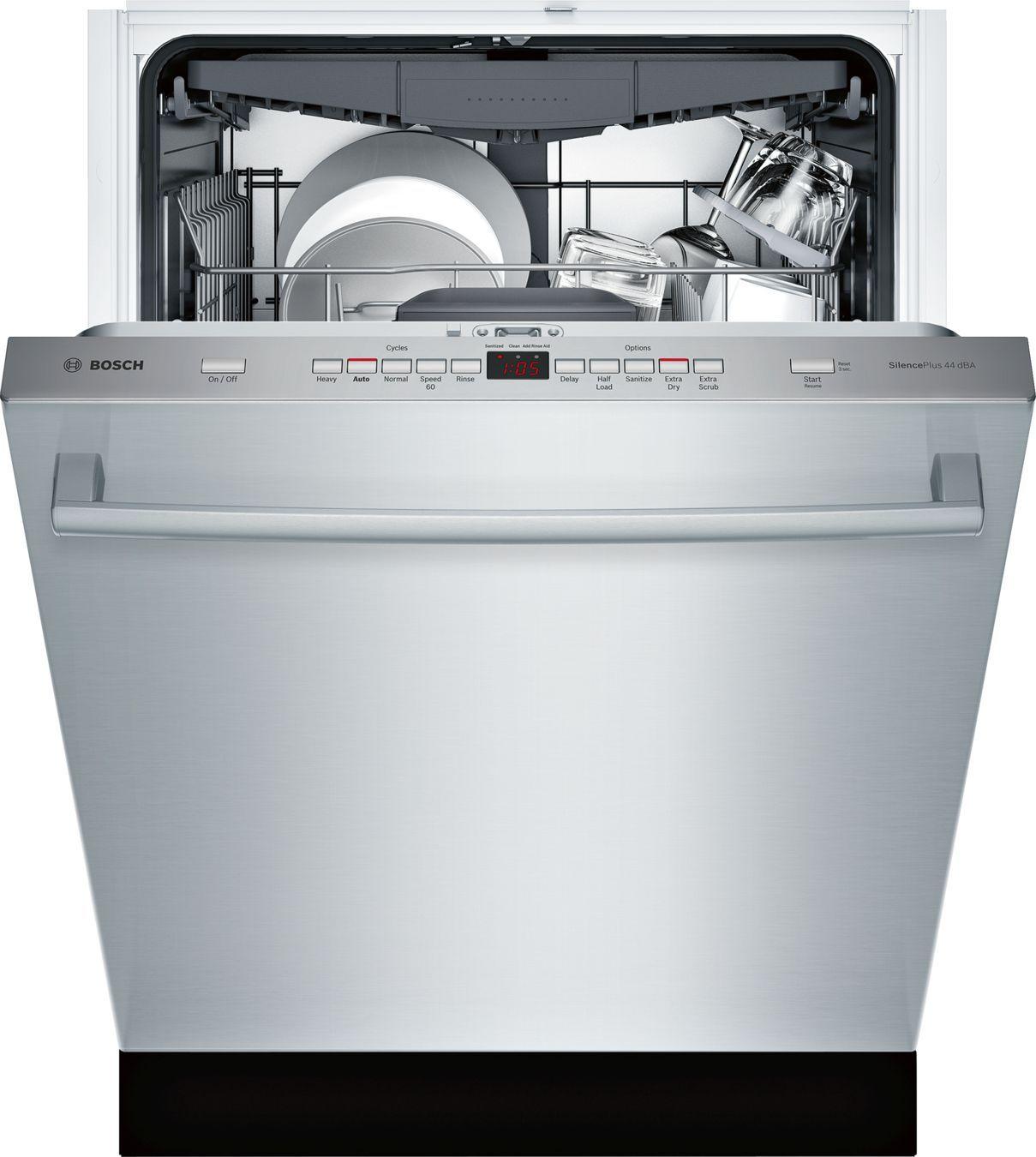 BOSCH SHX863WD5N Dishwasher Steel tub, Integrated
