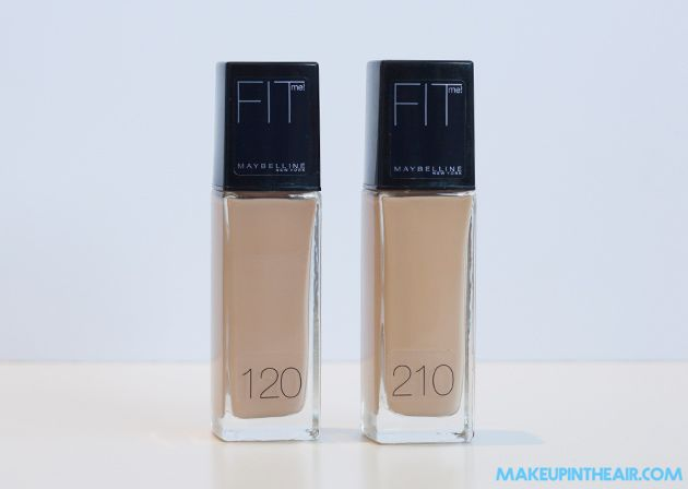 maquillaje fit me maybelline