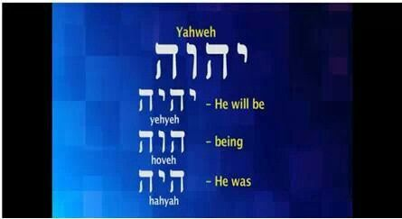 Yahweh, the God who is.