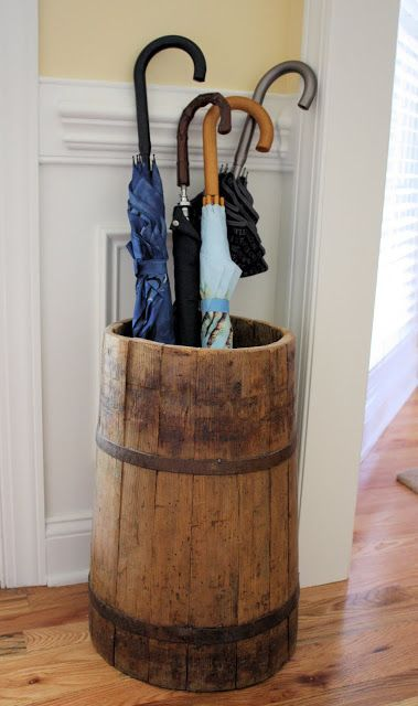 Umbrella Stand Designs : Butter churn turned umbrella stand ideas for the lake house in