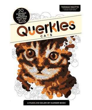 Querkles Cats Activity Book