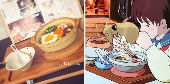 アニメの食べ物 おしゃれまとめの人気アイデア pinterest humi ジブリ飯 食事シーン 食べ物のアイデア