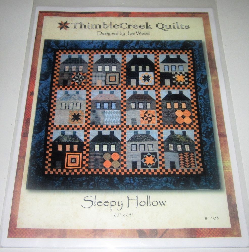 Sleepy hollow pieced quilt sewing pattern halloween houses sleepy hollow pieced quilt sewing pattern halloween houses thimblecreekquilts jeuxipadfo Gallery