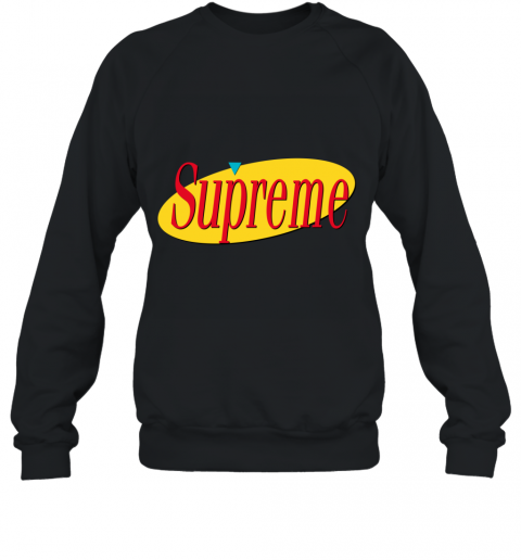 Supreme Seinfeld Logo Sweatshirt Violette Leonie Sweatshirts Seinfeld Unisex Shirts