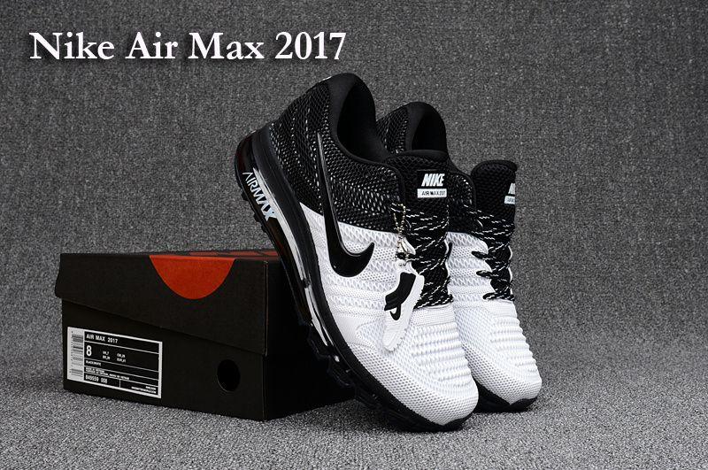 Nike Air Max 2017 III KPU Men's Running Shoes White Black