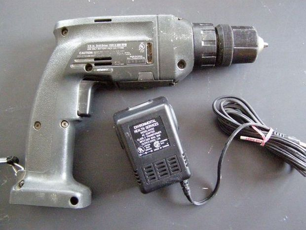 Convert A Battery Drill To Wall Power Battery Drill Cordless Drill Drill