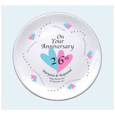 Gift ideas for 26th wedding anniversary