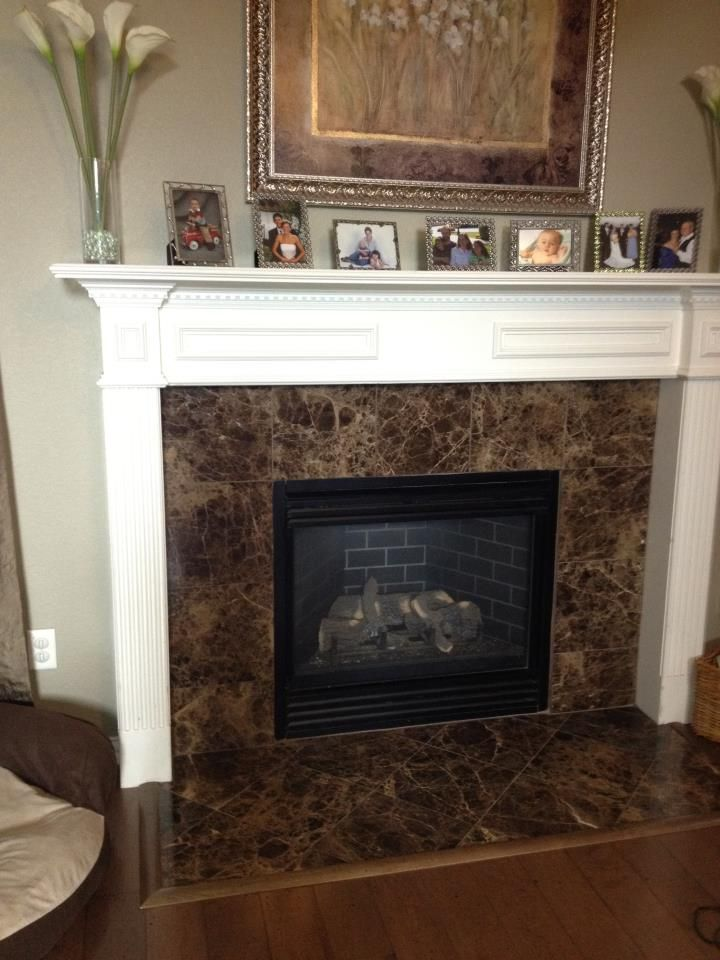 fireplace idea in family room