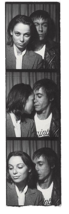 Esther Friedman and Iggy Pop