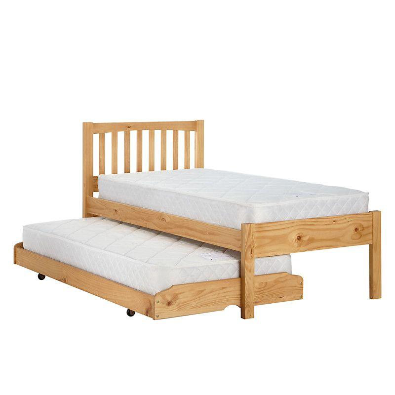 Buy John Lewis The Basics Woodstock Guest Bed Pine John Lewis Guest Bed Bed Small Room Bedroom