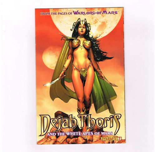 DEJAH THORIS & THE WHITE APES OF MARS Cool 4-part series from Dynamite! NM http://r.ebay.com/w8ubud