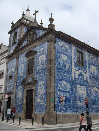 Capilla de las Almas Cedofeita  Portugal