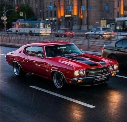 20 ideas old cars muscle chevelle ss