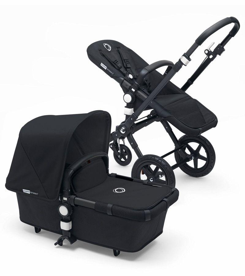 2017 Bugaboo Cameleon3 Complete Stroller Black Frame