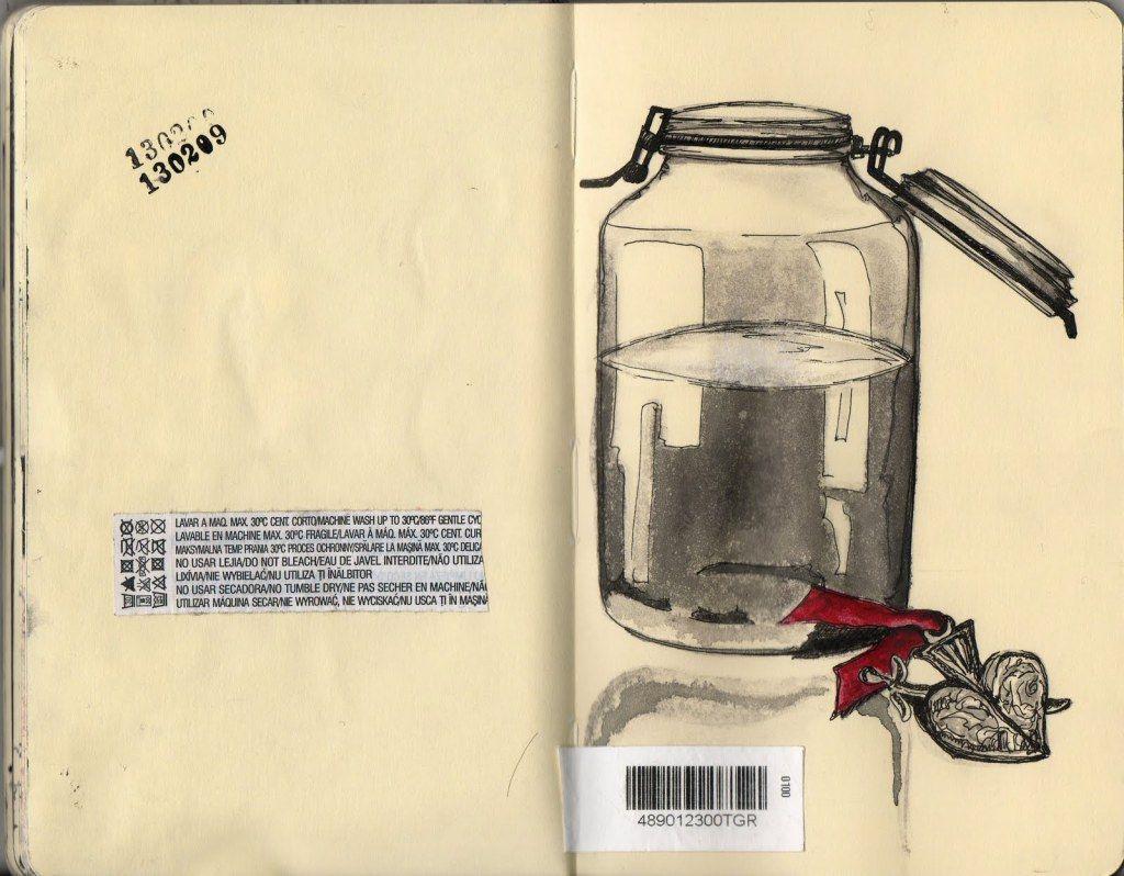 Libretas De Dibujo De Un Artista Freelance: Cuaderno De Arte Y Vida… Erika Kuhn