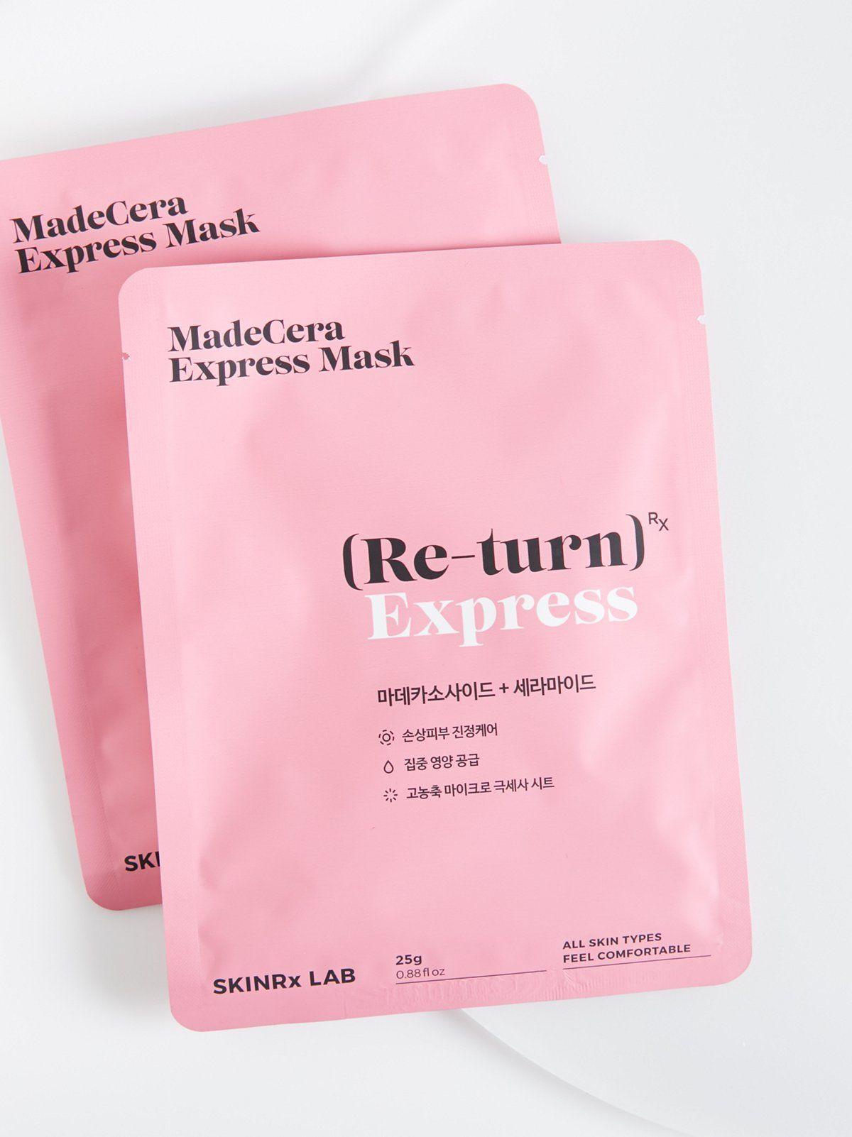 Madecera Express Masks Cruelty free skin care, Diy skin