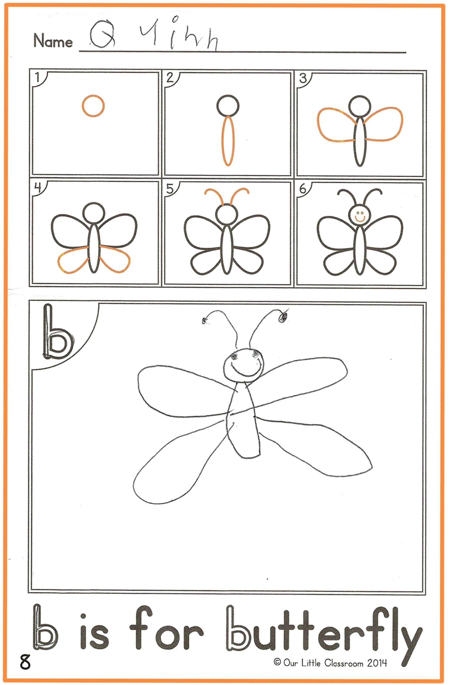 Alphabet Activities How To Draw