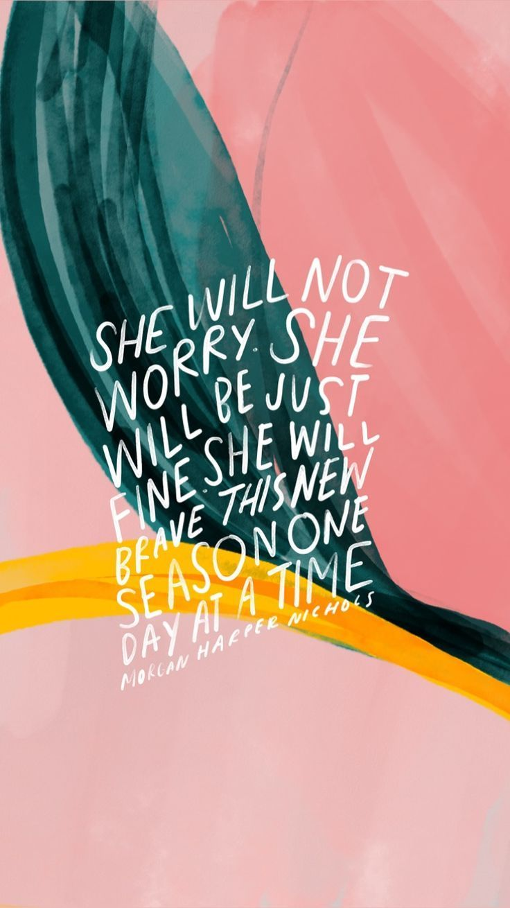 Inspirational And Motivational Quotes :she Will Not Worry