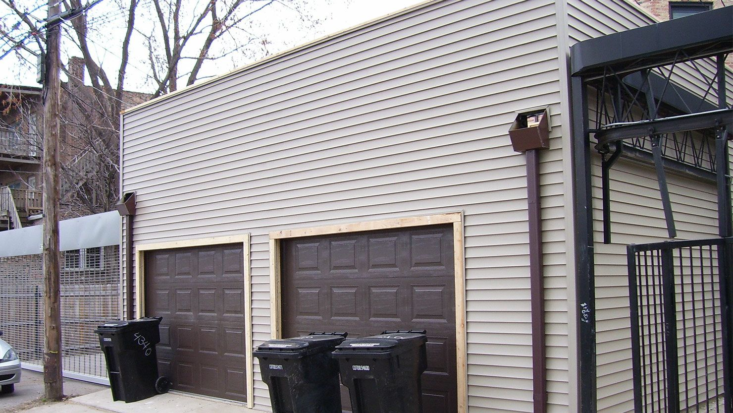 Best Flat Roof Garage Garage Builders Flat Roof Garage 400 x 300