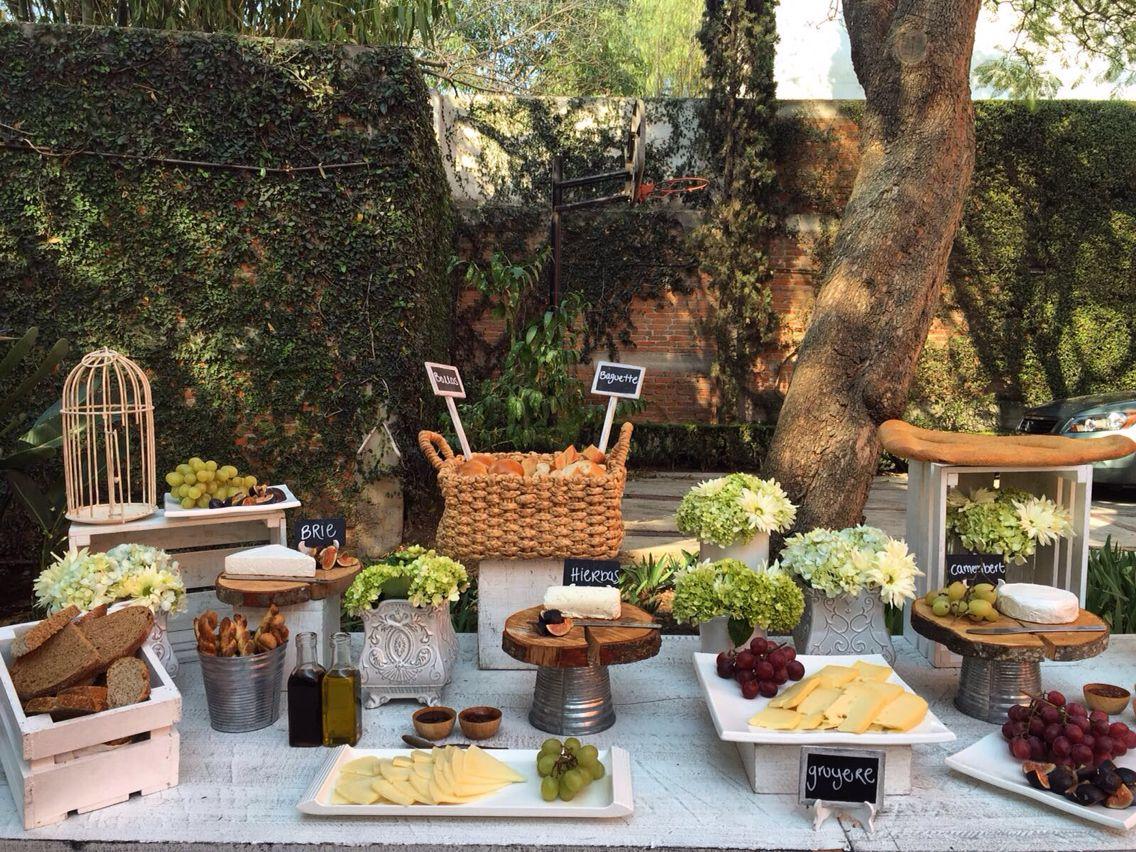 Lo mejor para tus invitados mesa de quesos boda civil - Mesa de quesos para bodas ...