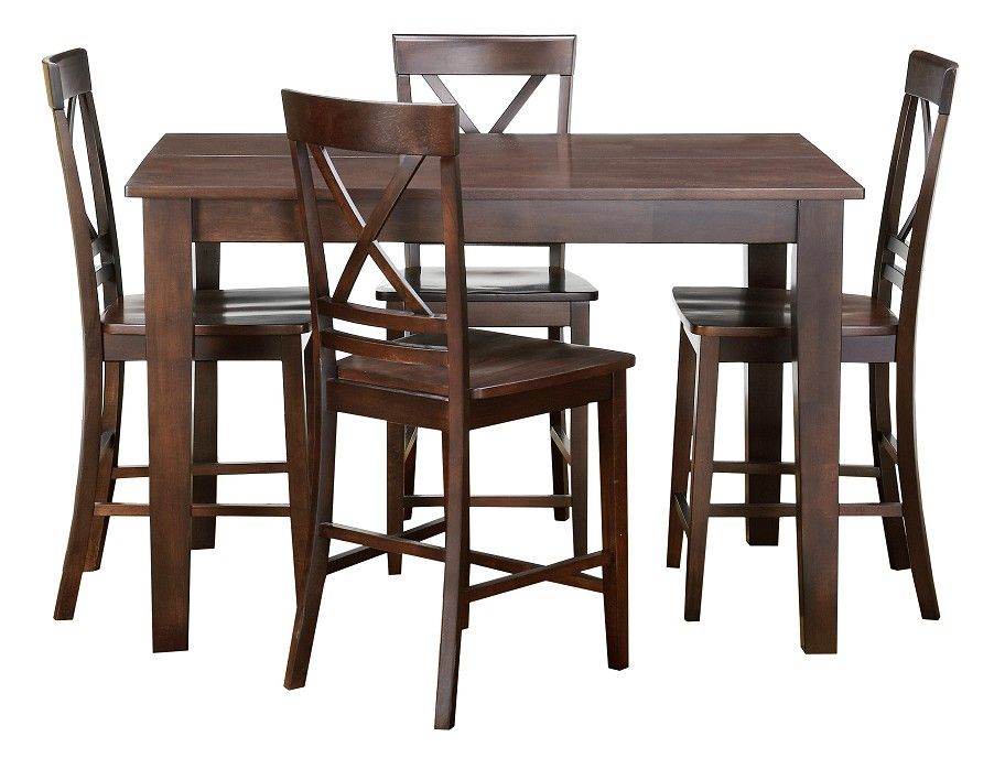 18 butterfly leaf 54x36 table 4 chairs 69999 slumberland 18 butterfly leaf 54x36 table 4 chairs 69999 slumberland cosmos collection espresso workwithnaturefo