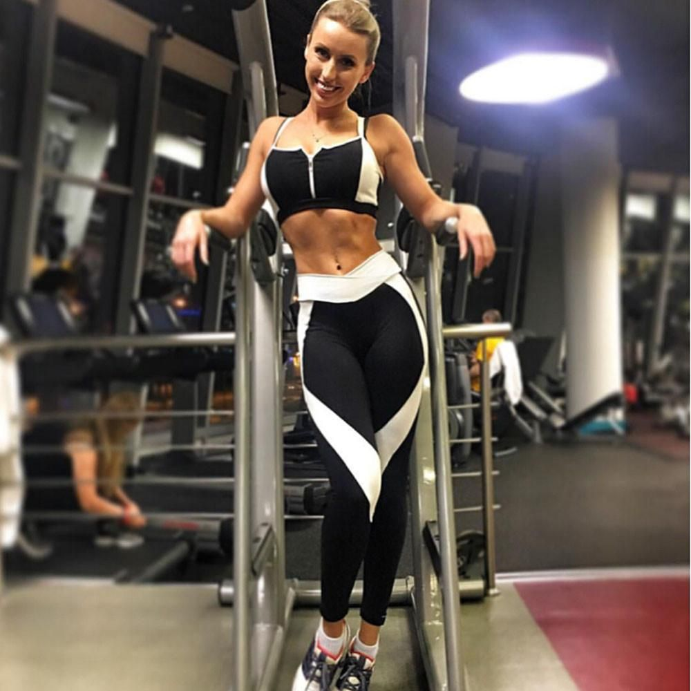 22f3577f7d25 ... take your normal size Item Type  Full Length Sport Type  Yoga. 2017 Women  Sports Yoga Pants Running Athletic Leggings Quick Dry Yoga Gym Workout  Clothes ...