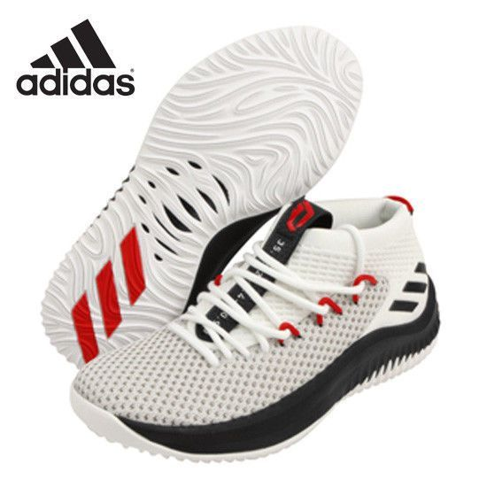 online store 5a31c a297d adidas Dame 4 Men s Basketball Shoes Court Portland Bounce White BY3759   adidas